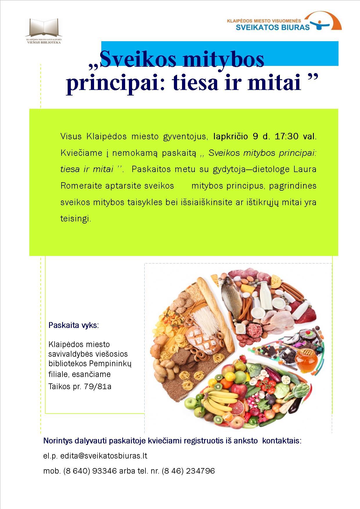 mitybos hipertenzijai principai