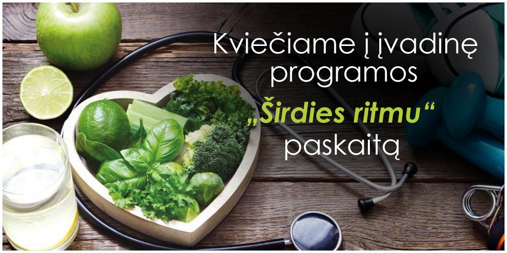 tikslinis širdies ir kraujagyslių sveikatos širdies ritmas