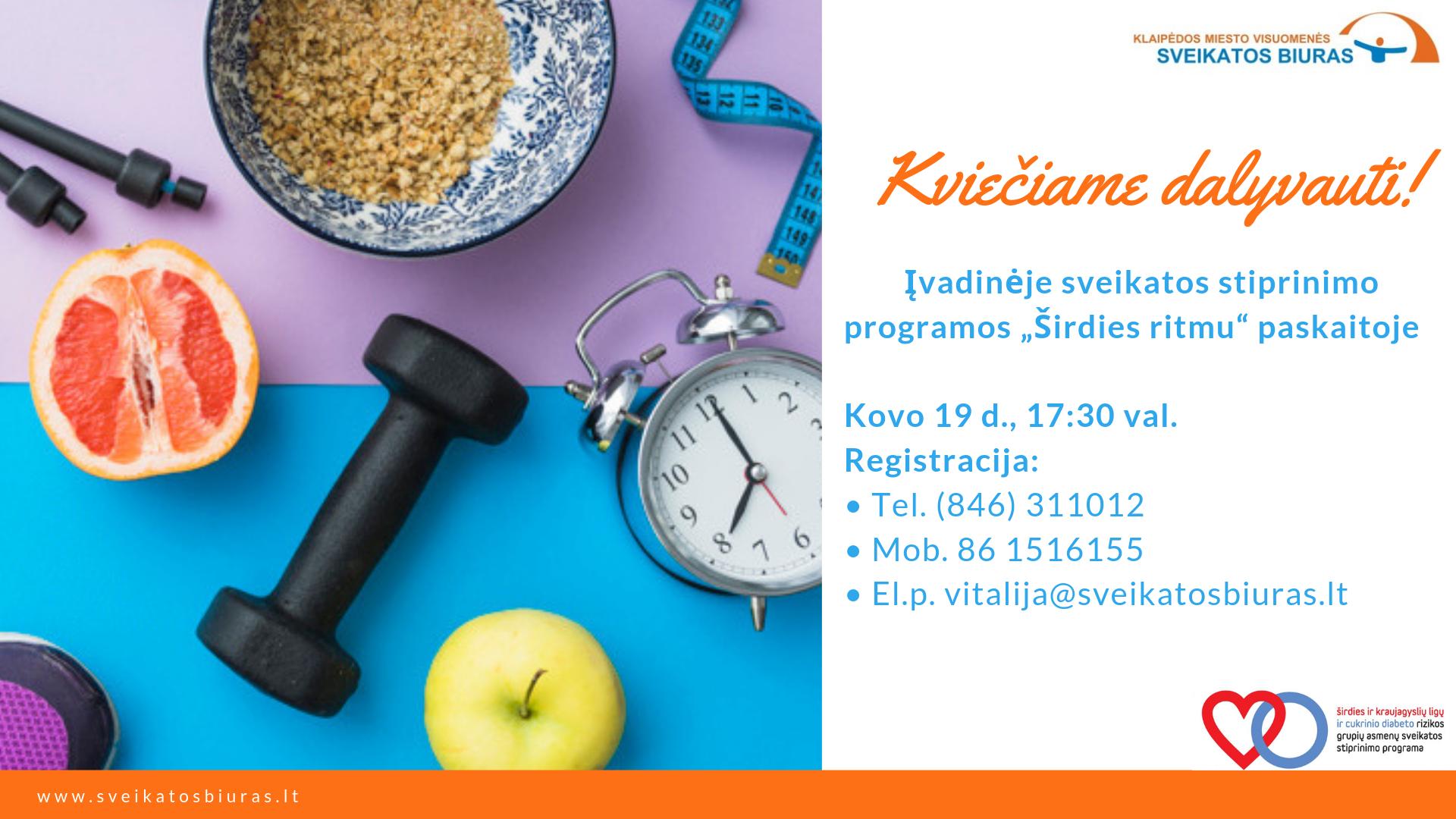 širdies sveikatos maisto receptas)